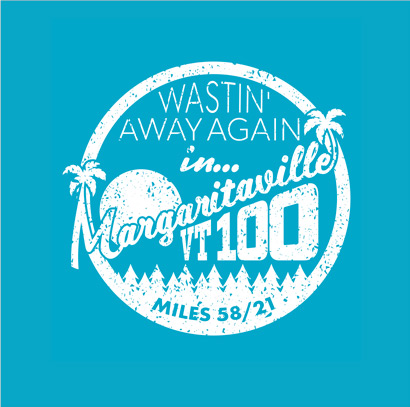 Vermont 100 - Project - Margaritaville T-Shirt Design Logo