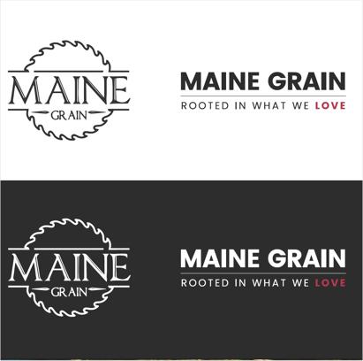 Maine Grain - Maine Grain - Project - Web Font Logos