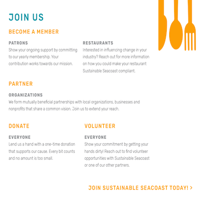 Sustainable Seacoast - Project - Joining Brand Copy