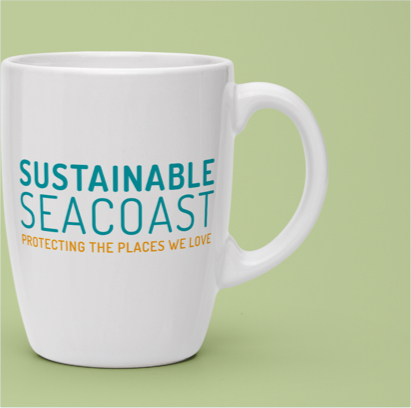 Sustainable Seacoast - Project - Logo on Coffee Mug Example