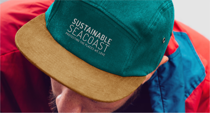 Sustainable Seacoast - Project - Logo on Hat Example