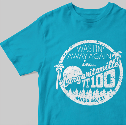 Vermont 100 - Project - Margaritaville T-Shirt Design