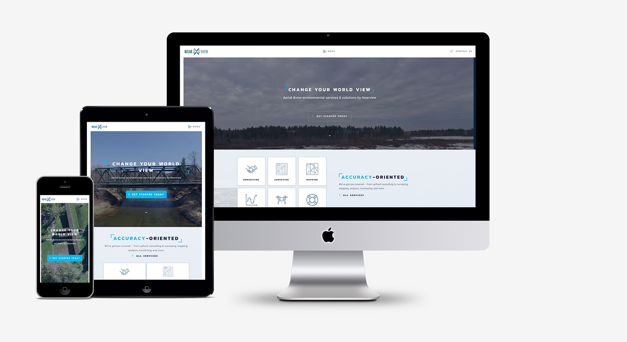 Nearview – Website Design