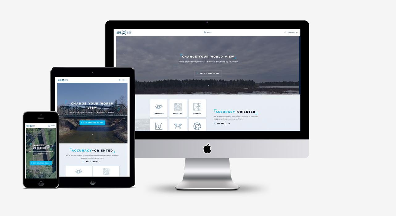 Nearview – Website Design