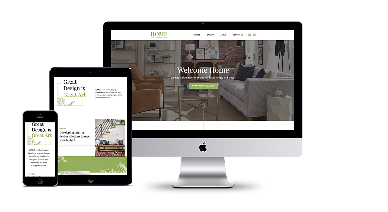 HOME – Website Design